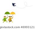 雨衣 儿童 孩子 46993121