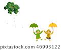 雨衣 儿童 孩子 46993122