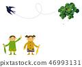 雨衣 儿童 孩子 46993131
