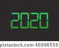 2020, 배경, 배경 소재 46996556