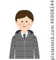 사업가 다운 재킷 46998344