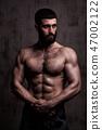 man, muscular, muscle 47002122