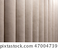 Closeup photo of brown textile wall panel with texture 47004739