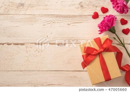 母親節Yasuno Kaoru生日禮物送愛心康乃馨禮物母親節康乃馨 47005660