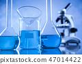 Scientific glassware for chemical experiment 47014422
