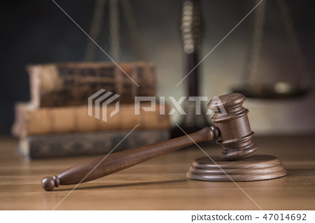 Gavel,Law theme, mallet of judge concept 47014692