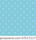 Diamond seamless pattern vector illustration. 47017217