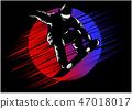 snowboard, snowboarder, vector 47018017