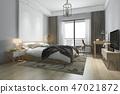 床 床鋪 臥室 47021872