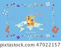 vector, suitcase, world 47022157