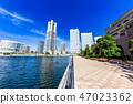 神奈川橫濱港未來的風景 47023362