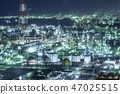 Factory night view 47025515