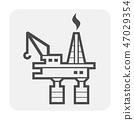 鹤 起重机 图标 47029354