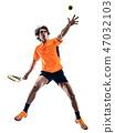 网球 球员 抠图 47032103