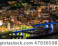<Shizuoka Prefecture> Atami night view, view from Atami Castle 47036598