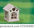 房屋 房子 树叶 47036989
