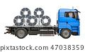 卡车 卷 拖车 47038359