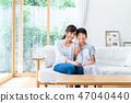 母親和孩子 47040440