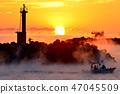 久礼湾의 바다 안개 47045509