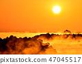 久礼湾의 바다 안개 47045517