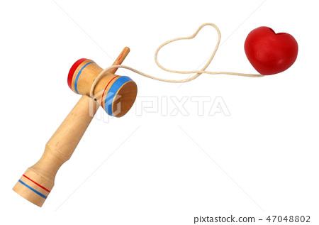 Kendama  in heart shape, 47048802