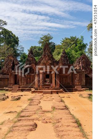 [世界遺產]吳哥考古遺址Banteay Srei的方法 47053854