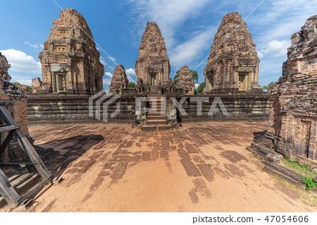 [世界遺產]吳哥考古遺址東Mebon印度教寺廟 47054606