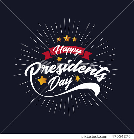 Happy Presiidents Day Banner Background  47054876