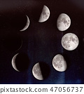 Phases of the Moon 47056737