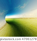 Abstract summer landscape background 47061278