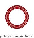 寶石 石頭 紅寶石 47062057