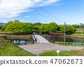 반달 堡上에서 본 二の橋 47062673