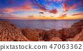 Sunset at sea 47063362