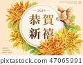 菊 菊花 新年 47065991
