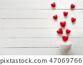 Valentines day and love concept.  47069766