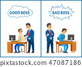Good and Bad Boss, Comparing Attitude to Employee 47087186