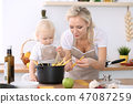 烹饪 母亲 女儿 47087259