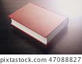 new closed book close-up 47088827
