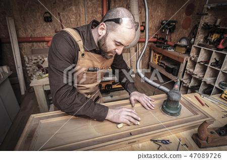 carpenter at work 47089726