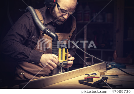 carpenter at work 47089730