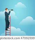 Business vision ladder 47092099