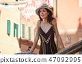 person tourist woman 47092995