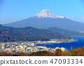 富士山 观点 景色 47093334