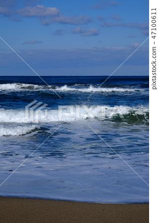 Coastal landscape · Tottori sand dunes coast 47100611