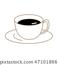 커피 일러스트 아이콘 47101866