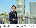 商人藍天大廈企業人圖像 47102530