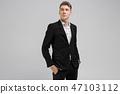 Portrait, man, suit 47103112