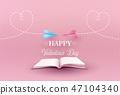 Concept of valentine day 47104340