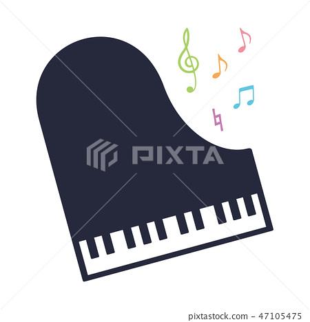 材料樂器(鋼琴)4 47105475