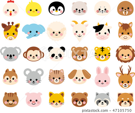Animal icon set 47105750